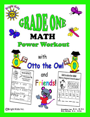 1 BK Grade 1 Math cover tpt