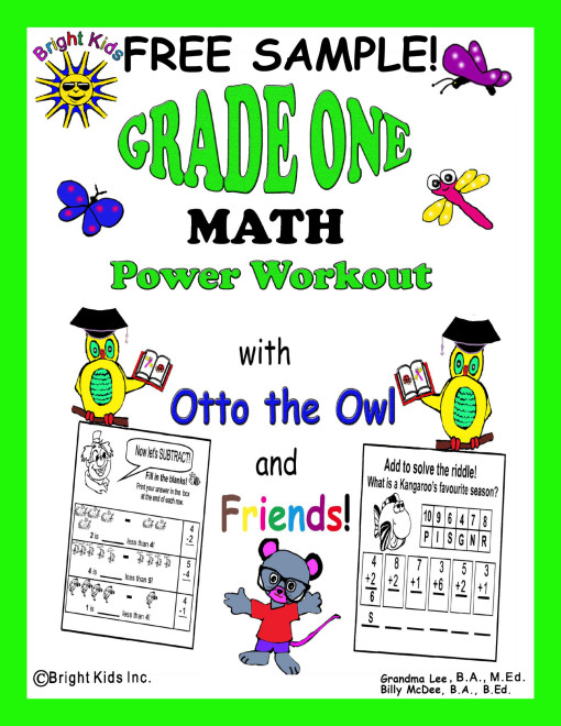1 BK Grade 1 Math free sample
