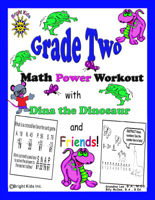 1 BK Grade 2 Math cover tpt