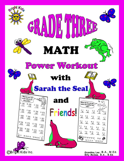 1 BK Grade 3 Math cover tpt