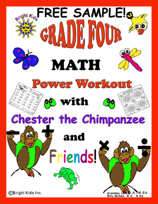 1 BK Grade 4 Math cover