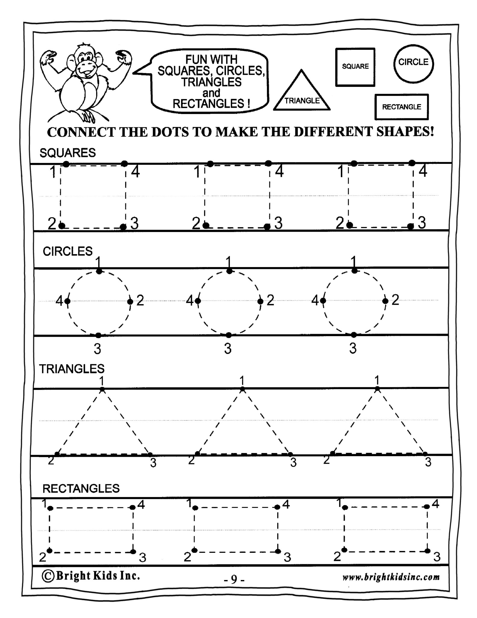 Worksheet Preschool Math preschool math power workout free sample 1b 2015 binder2 page 11