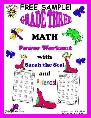 GR 3 Math free sample