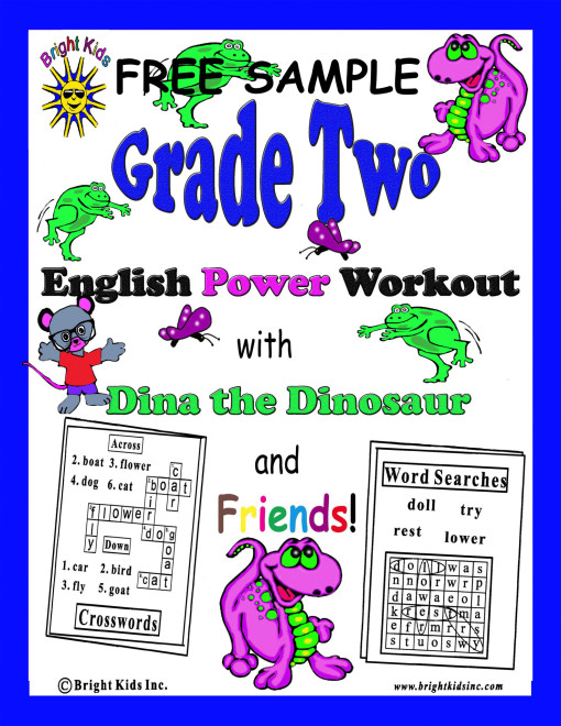 Grade 2 cover free sample