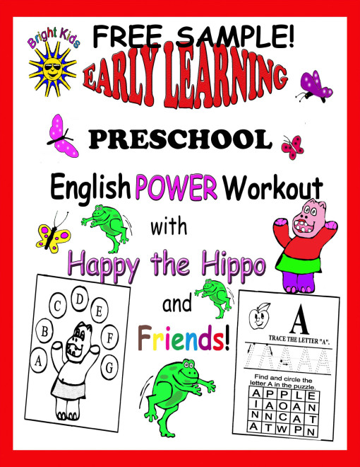 Grade PS English cover free sample
