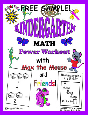 Kindergarten Math-free sample